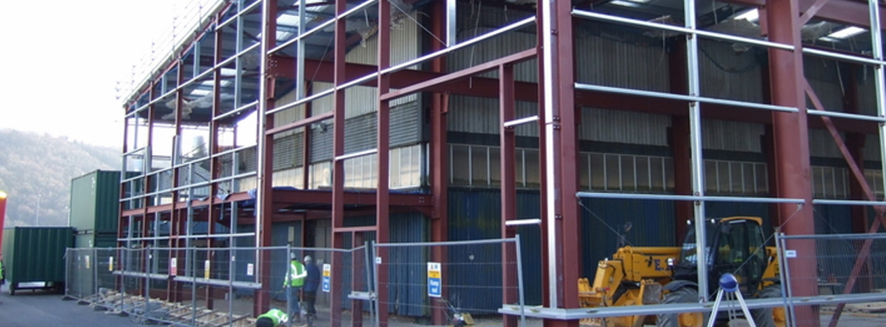 Industrial - ET & S Construction Wales Homes